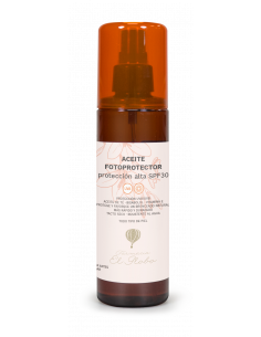 Aceite fotoprotector 30 spf...